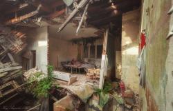 Verlassene Krankenstation