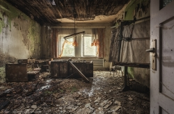 workplace of decay
