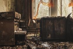 abandoned workplace